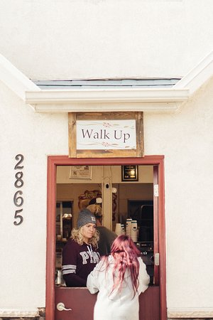 Walk up coffee