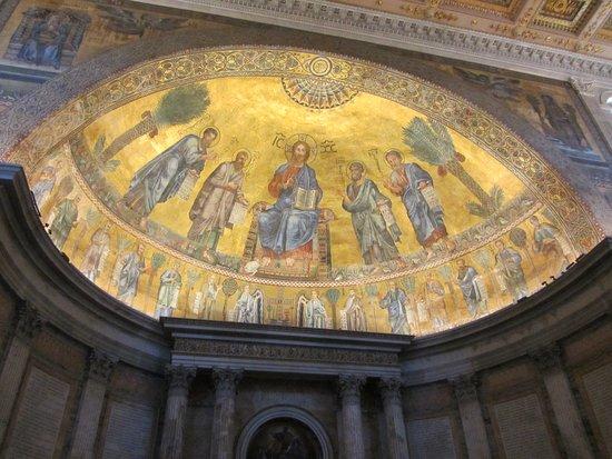 Basilica Papale San Paolo Fuori le Mura: Mosaici dell'Abside
