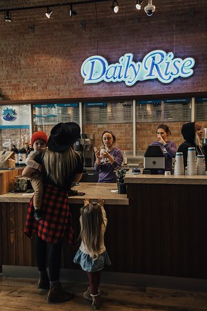 Grab a friend and spend the day with us at #DailyRiseDowntown - we're open until noon every Sunday!