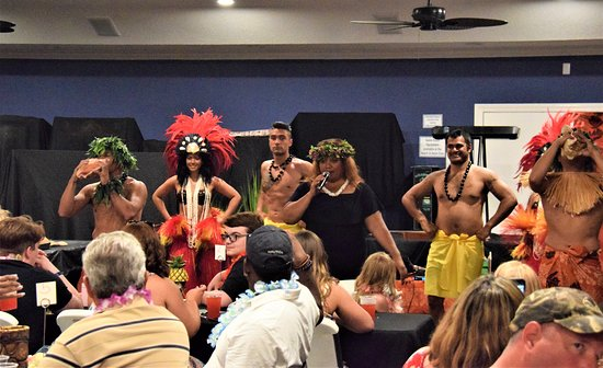Polynesian Fire Luau and Dinner Show Ticket in Myrtle Beach: Main show dancers