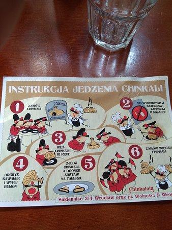Chinkalnia Restauracja Gruzinska: Instrukcja obsługi do pierogów