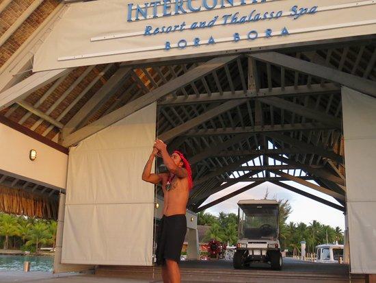 Bora Bora, Polinesia Francesa: À notre arrivée à l'Intercontinental Thalasso and Spa