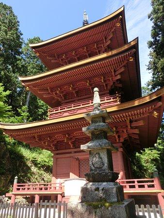 Chomei-ji Temple Triple Tower