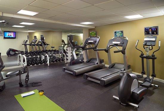 Omni Riverfront Hotel: Health club