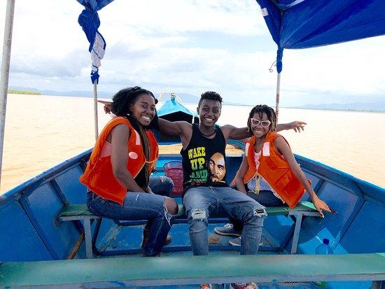 Boat trip over lake chamo to visit crocodile and hippopotamus