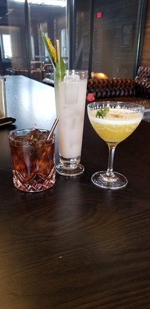 Bently Heritage: All the drinks