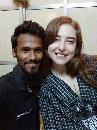 Selfie with a happy Guesst on a slum tour.