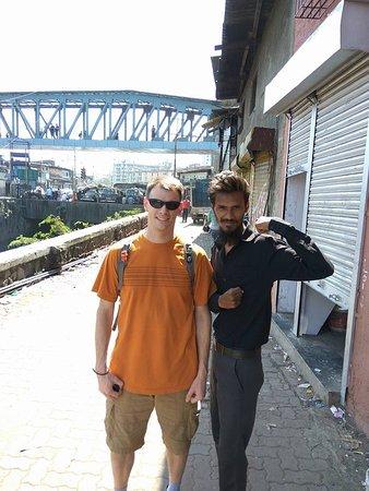 British army guy on a slum tour.