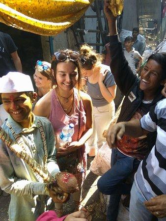 Marriage on a slum tour.