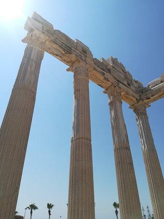 Side, Türkiye: Görülmesi bir yerlerden biri. Mayıs ve haziran başını tavsiye ederim .