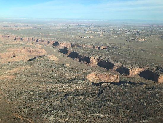 Canyonlands National Park Air Tour: Wonderful views