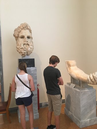 The Acropolis museum is worth the visit.