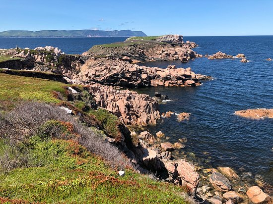Lovely view along the Cabot trail