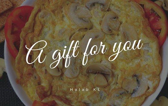 Halab KL: At Halab KL , food is the best gift for yourself and others 😉  - 在Halab KL,食物是給自己和他人的最佳禮物😉 - في حلب كوالالمبور ، يعد الطعام أفضل هدية لنفسك وللآخرين 😉  - https://buff.ly/2S8rzWT  #Food #Halab #Malaysia #Shawarma #Penang   #ِعربي #arabicFood #البيت_بيتك 