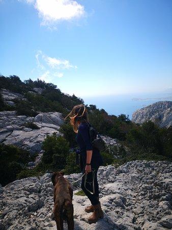 Куарту-Сант-Елена, Италия: ... anche il Selvaggio Blu con me!
