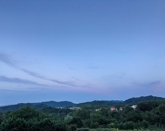 Verrua Savoia, إيطاليا: Il panorama. 