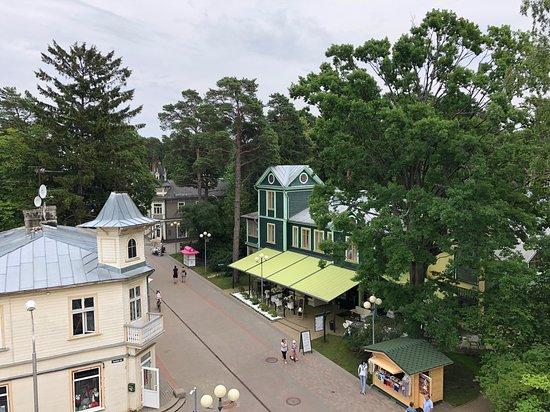 Restorans 77: Views from rooftop terrace