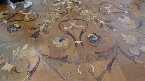 The State Hermitage Museum: Wood Floor in the Hermitage