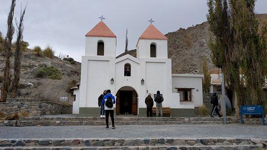 Rosario de Lerma, الأرجنتين: La iglesia por fuera