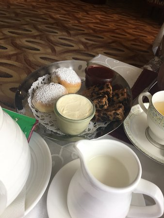 Afternoon Tea in Executive Lounge