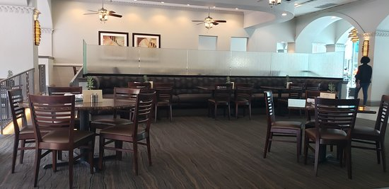 Grill 305: Restaurant layout