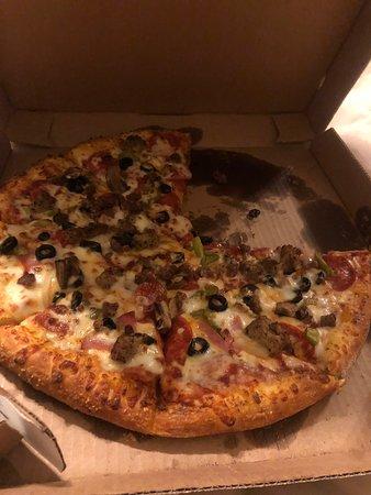 Oakland, TN: Last nights pizza was wonderful