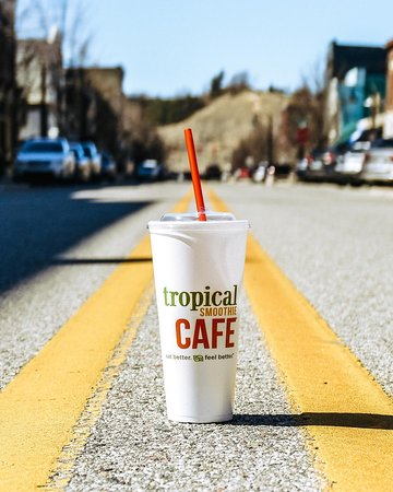 All roads lead to Tropical Smoothie Cafe