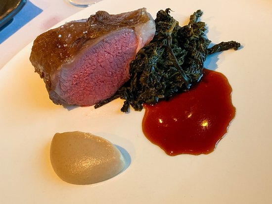Spring Lamb - cauliflower and braised greens