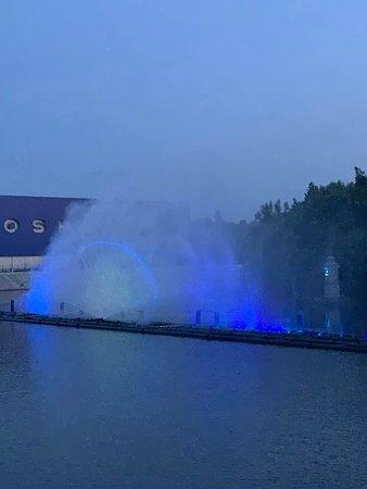Multimedia Fountain Roshen: Мультимедийный Фонтан Рошен