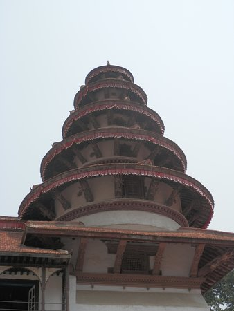 large pagoda tower in the palace