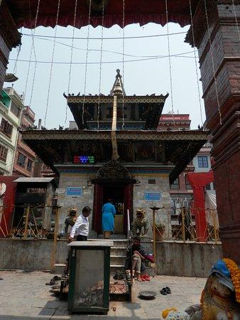 religious offerings durbar sq