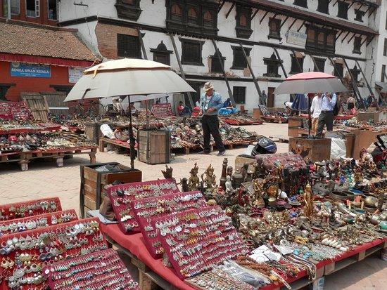 outdoor bazzar area ,nr durbar square