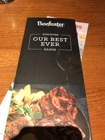 Mill House Beefeater: Menu