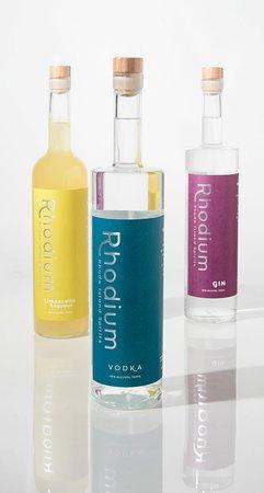 Rhode Island Spirits: RI Spirits, proud makers of Rhodium brand Gin, Vodka, and Limoncello.