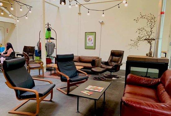 Rhode Island Spirits: RI Spirits spacious & bright tasting room.