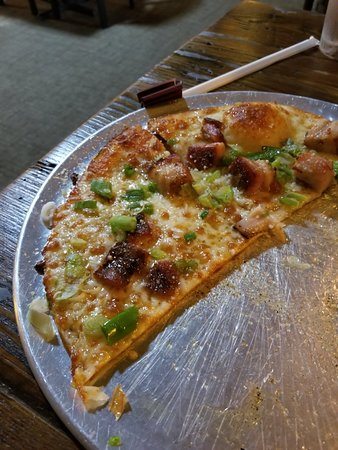 Nightshade free pork belly pizza!