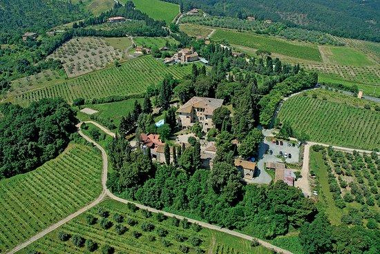 Montaione, Italia: Villa da Filicaja