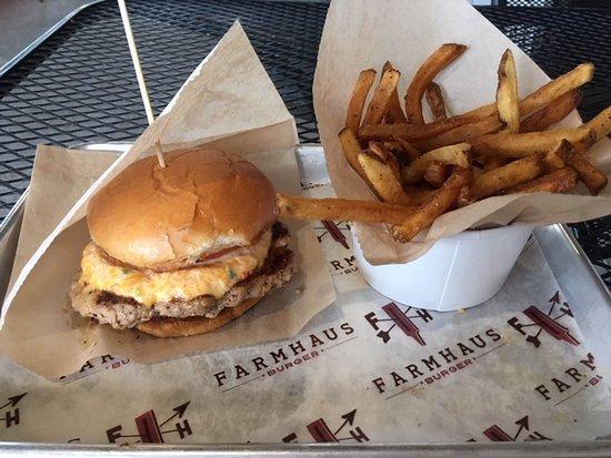 Farmhaus Burger Augusta 466 Flowing Wells Rd Menu Prices