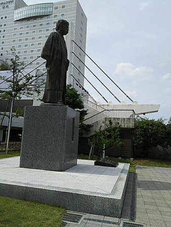 Okakura Tenshin Statue