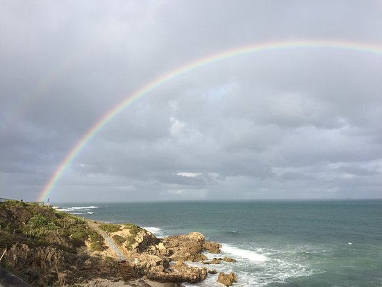 Trigg, Australia: Is there really a pot of gold at the end of a rainbow