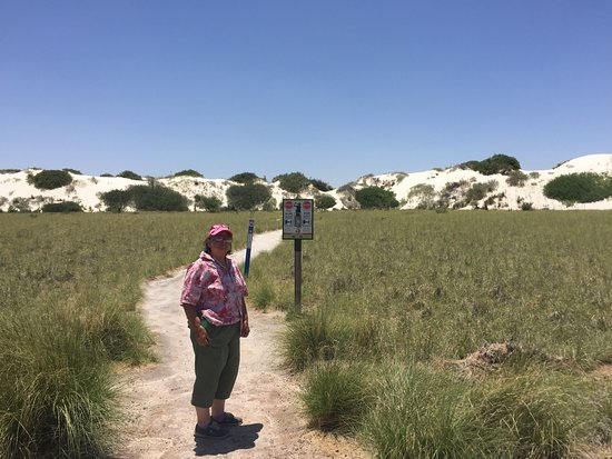 Nature trail to the dunes