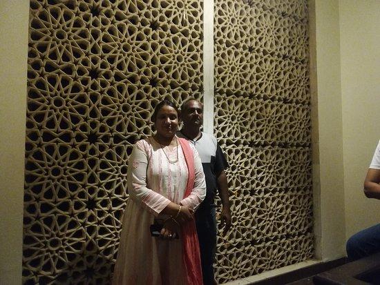 Rajasthali Resort and Spa: Photo of my mum