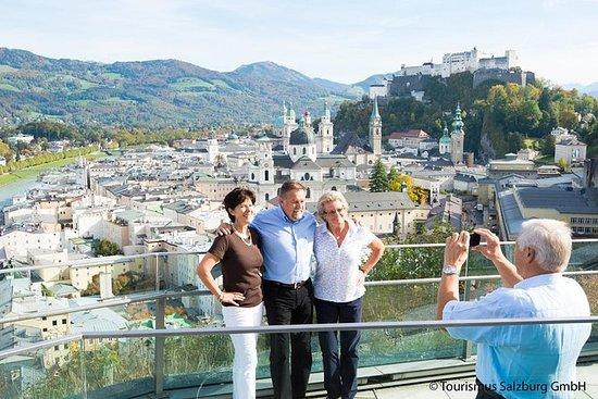 Panoramautsikt Salzburg City Tour med ...