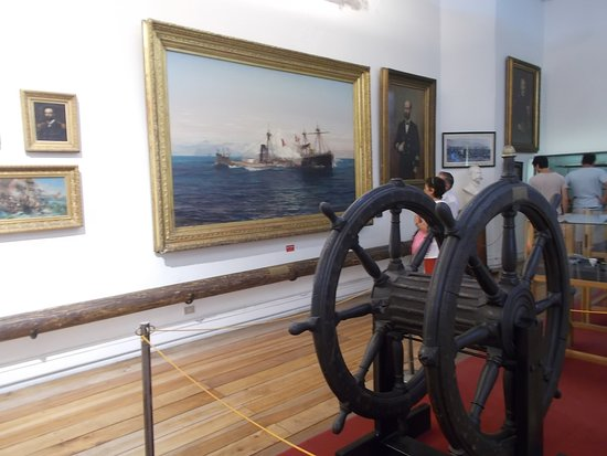 Some naval displays (on the second floor)