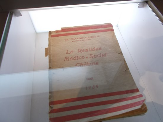Display of a book from the 1930's (on the second floor)