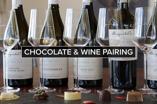 Schokolade und Wein Paarung