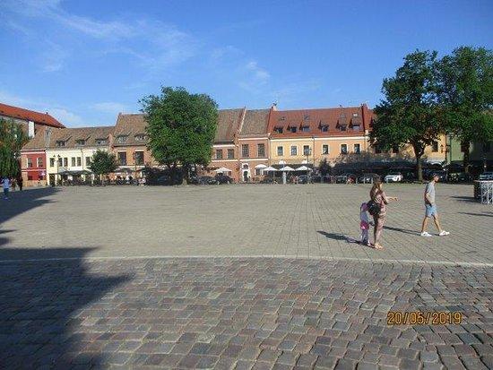 Old Town Kaunas: the main square