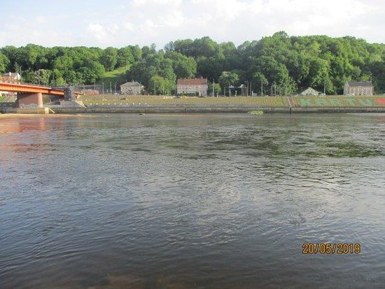Old Town Kaunas: The river