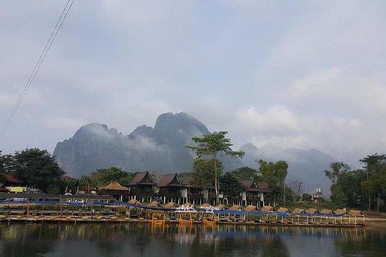 Laos: evidenzia 3 giorni Vangvieng in