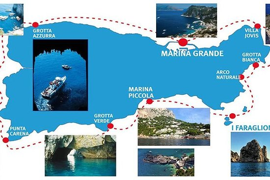 Capri: passeio de barco, bilhetes...